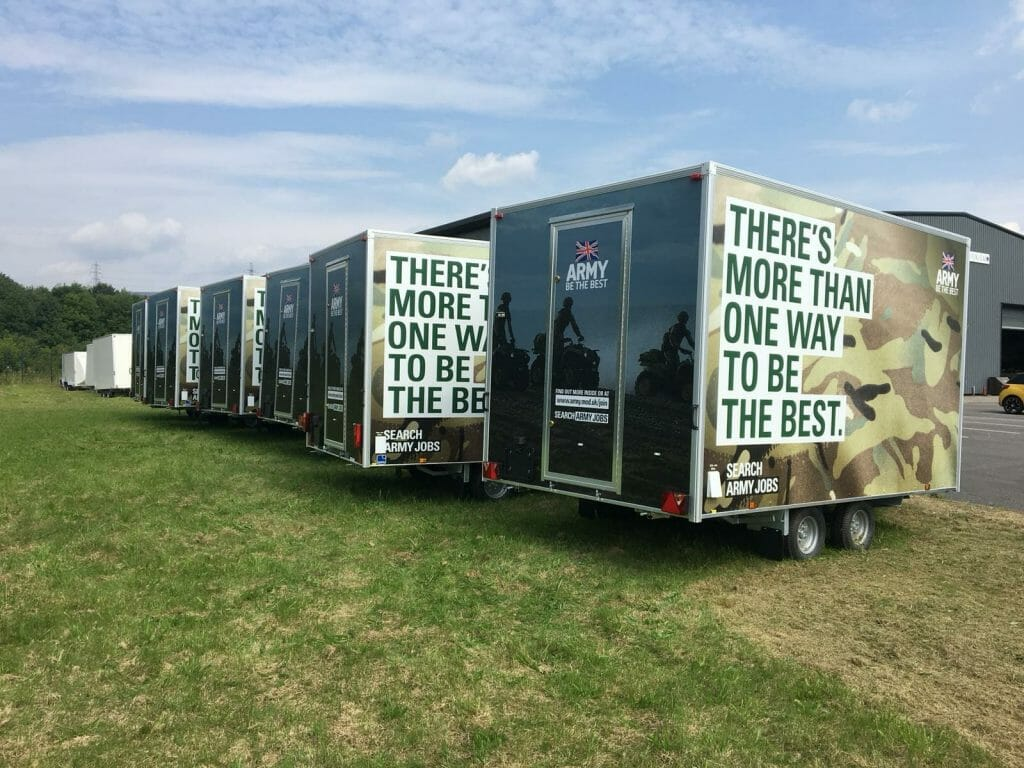 Van Sign Writing Fleet of Trucks