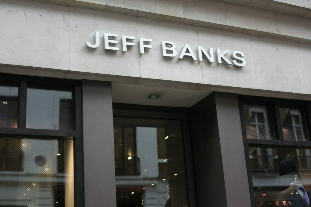 Jeff Banks Retail Graphics