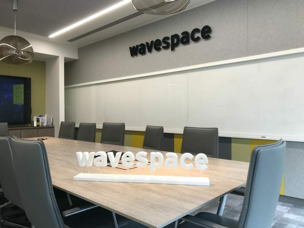 Indoor office signage